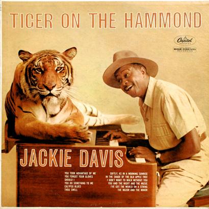 Jackie Davis Tiger Lp