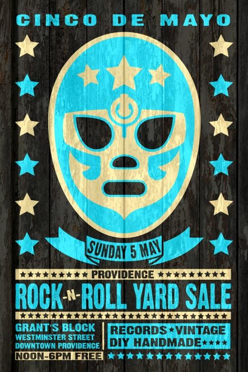 May 5th 2013 Cinco de Mayo Providence Rock And Roll Yard Sale