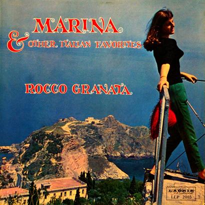 Rocco Granata Marina . . . Sexy LP Cover