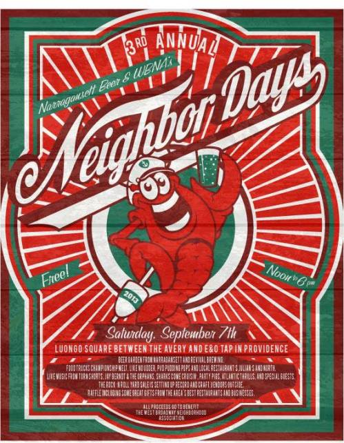 2013 NEIGHBOR DAYS RRYS POSTER