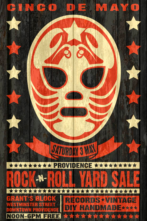 Cinco de Mayo Providence Rock And Roll Yard Sale and Block Party Saturday 3rd May 2014