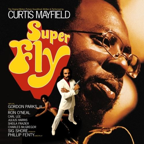 Curtis Mayfield Super Fly on Vinyl LP Records get it at What Cheer in Providence