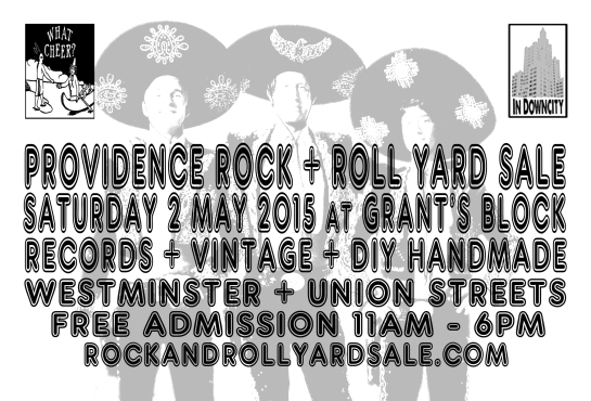 2015 CINCO DE MAYO PROVIDENCE ROCK AND ROLL YARD SALE DETAILS
