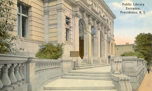 central-original-building-exterior-front-entrance-postcard