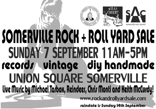 Sun 7 Sept 2014 Somerville Rock And Roll Yard Sale Details