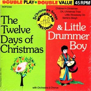 wonderland wdp2090 the twelve days of christmas