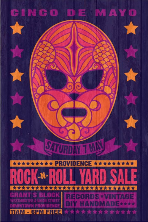 Posters Rock And Roll Yard Sale