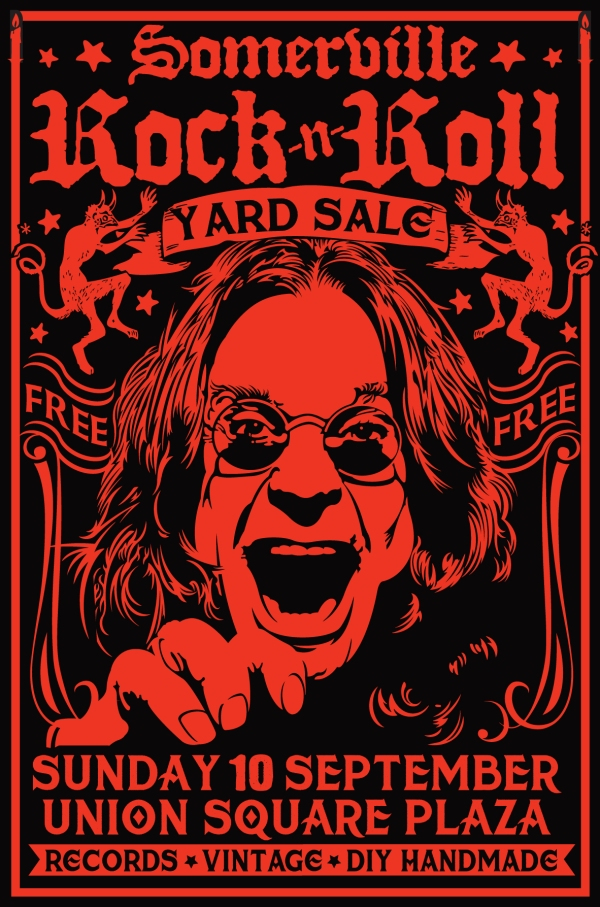 the 2017 somerville rock and roll yard sale 9.10